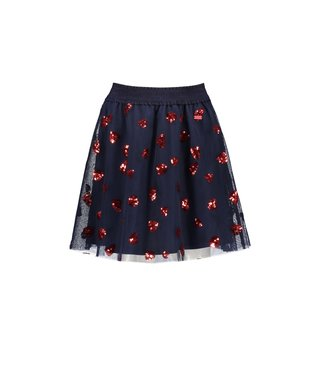 Taylor heart sequins petticoat