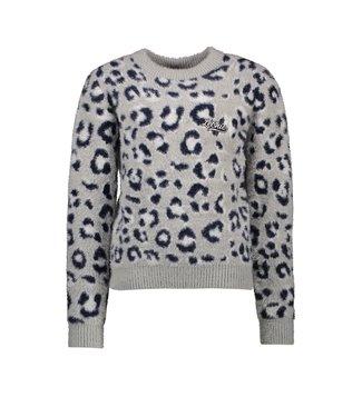 Olivia fluffy leo sweater