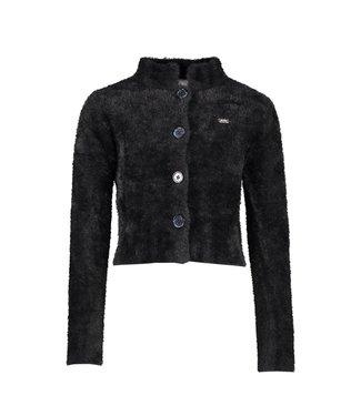 Alexia fluffy knit - Black