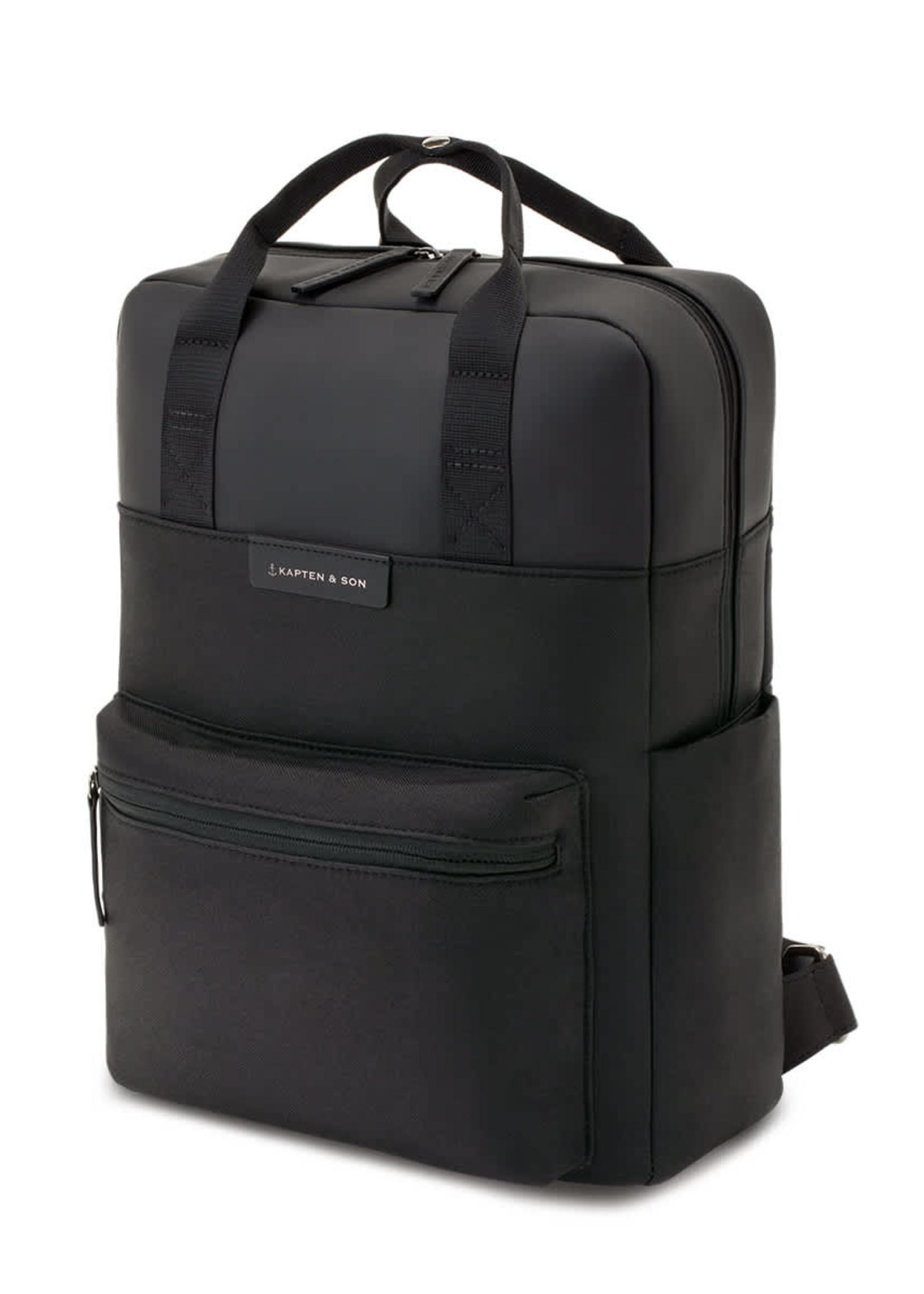 Kapten & Son Bergen All Black Backpack