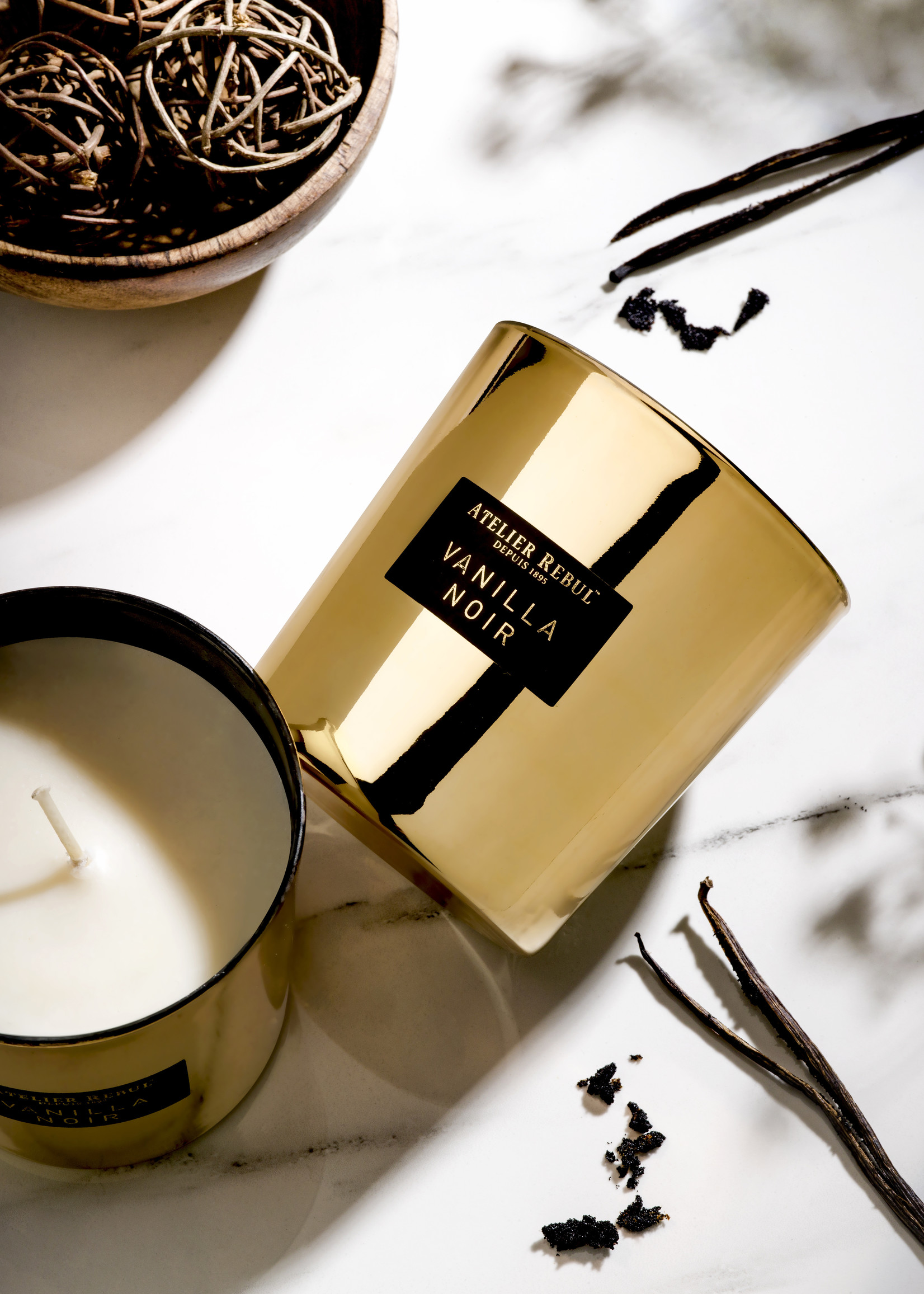 Atelier Rebul Vanilla Scented Candle 210gr