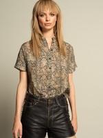 Iconic27 Snake Blouse/Dress Shortsleeve