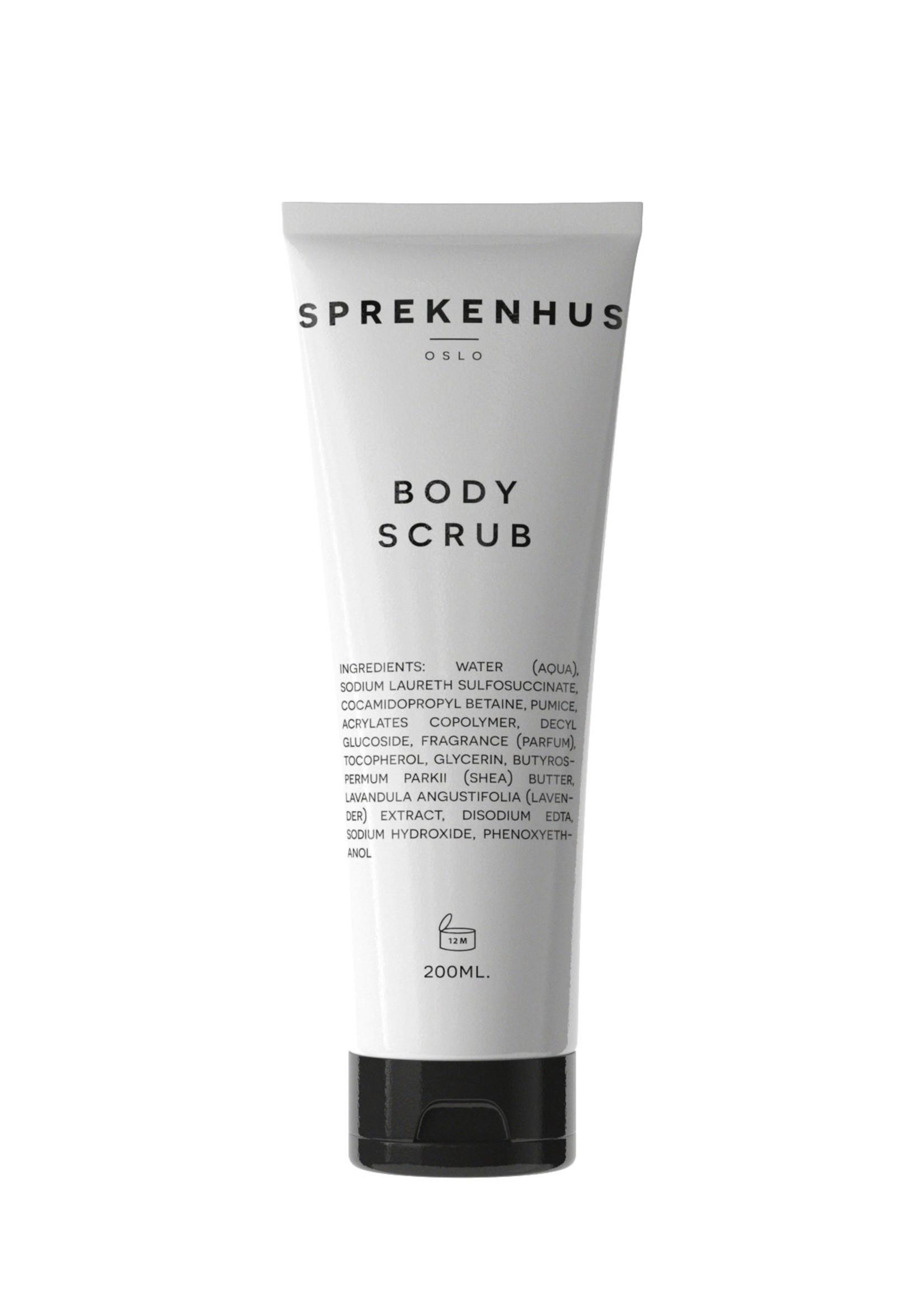 A. Sprekenhus Body Scrub 200ml