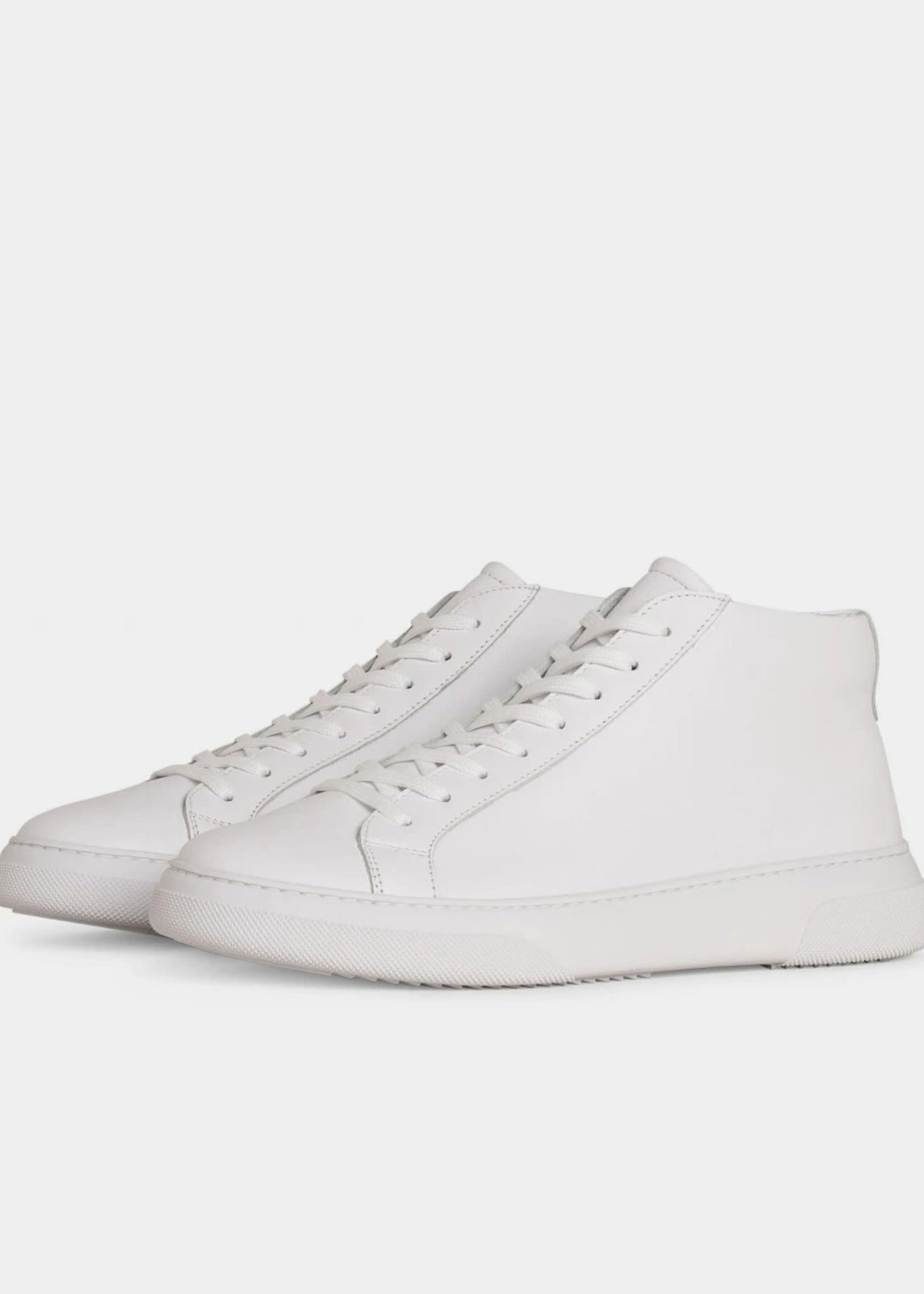 Garment Project Type Mid - White Leather