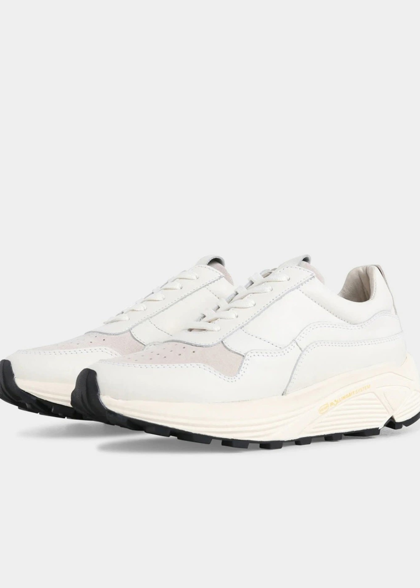 Garment Project Bailey Runner - White Leather