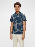 J. Lindeberg Brand Printed Polo Shirt