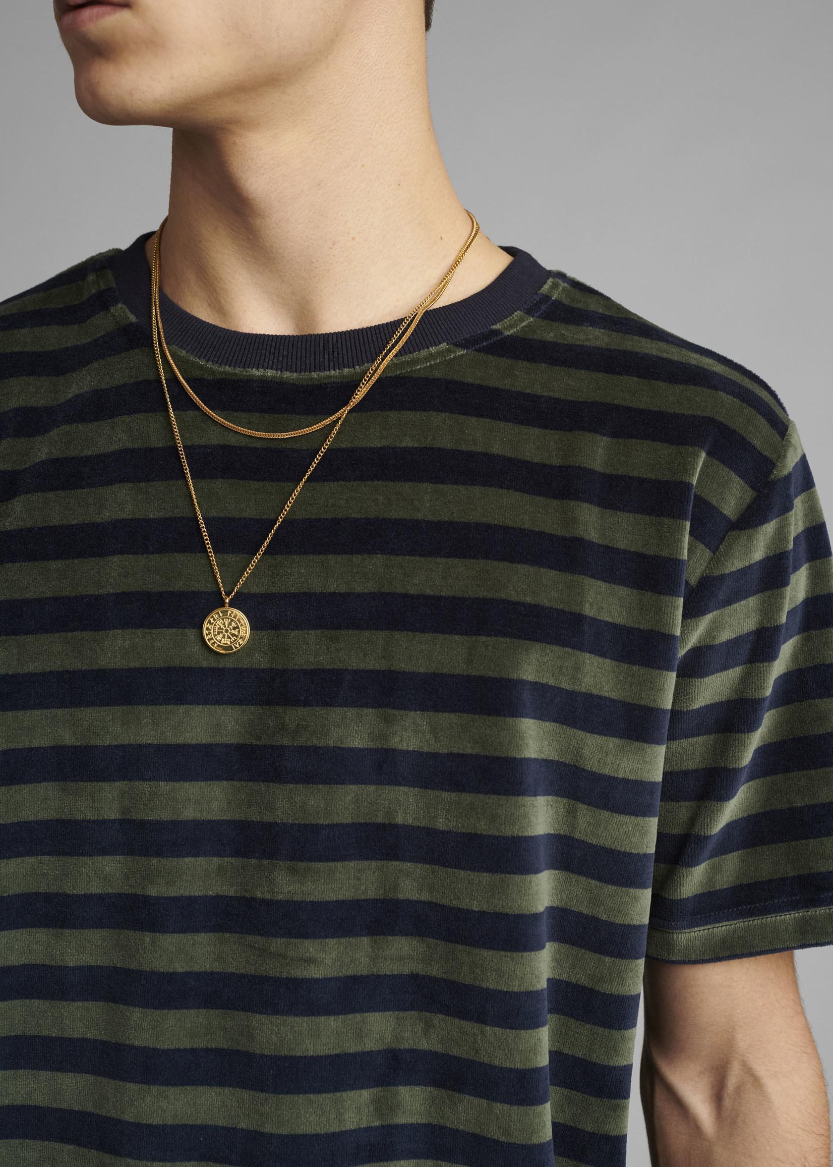 Anerkjendt Akrod Y/D Stripe Velvet T-Shirt