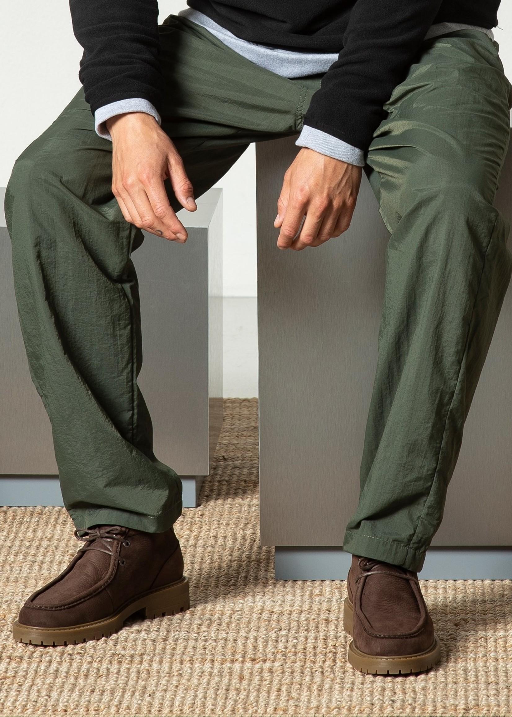 Garment Project Jaz Mid Top - Brown Tumbled Nubuck