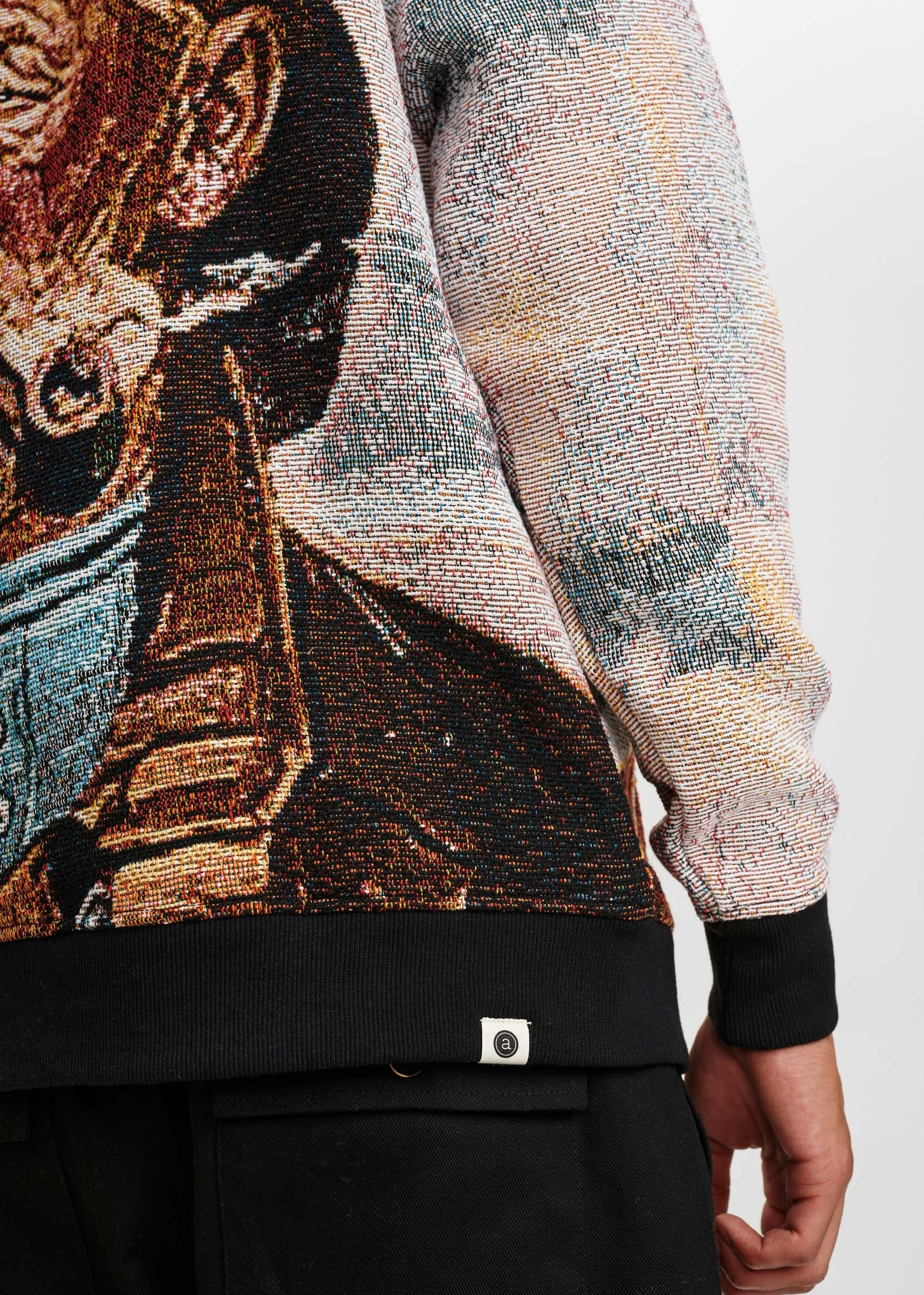 Anerkjendt Aksune Intarsia Knit