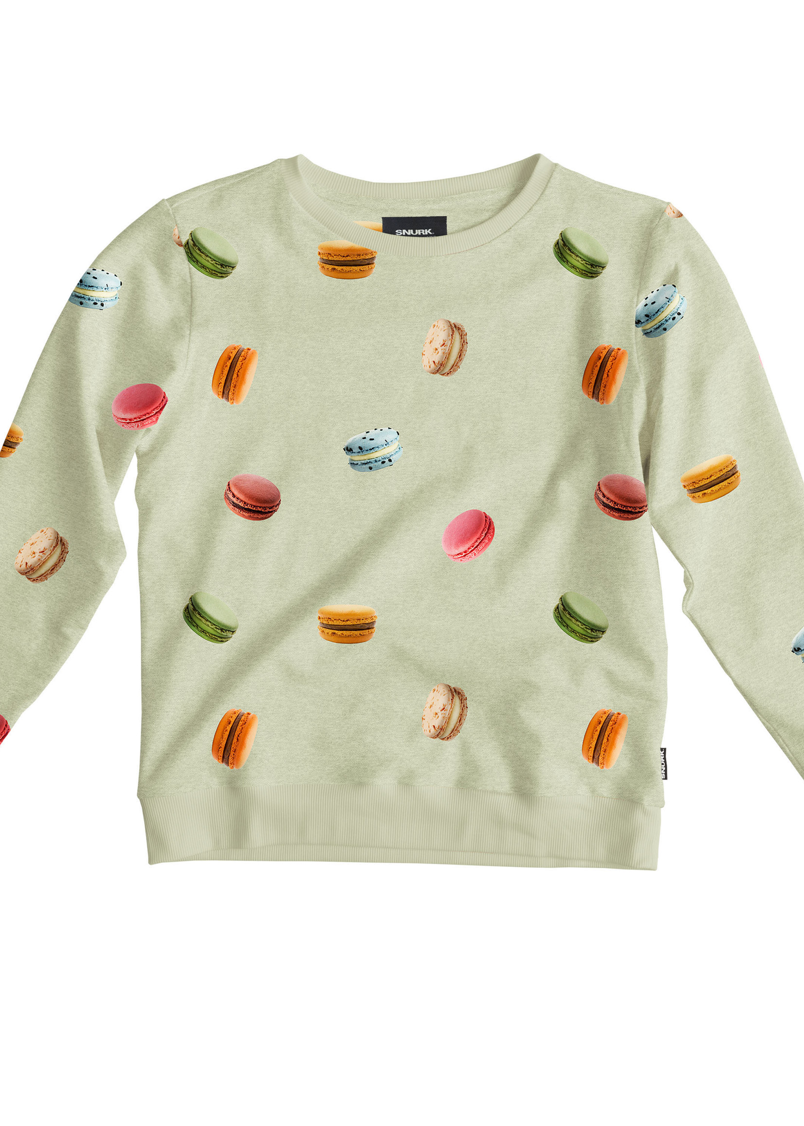 Snurk Macarons Green Sweater