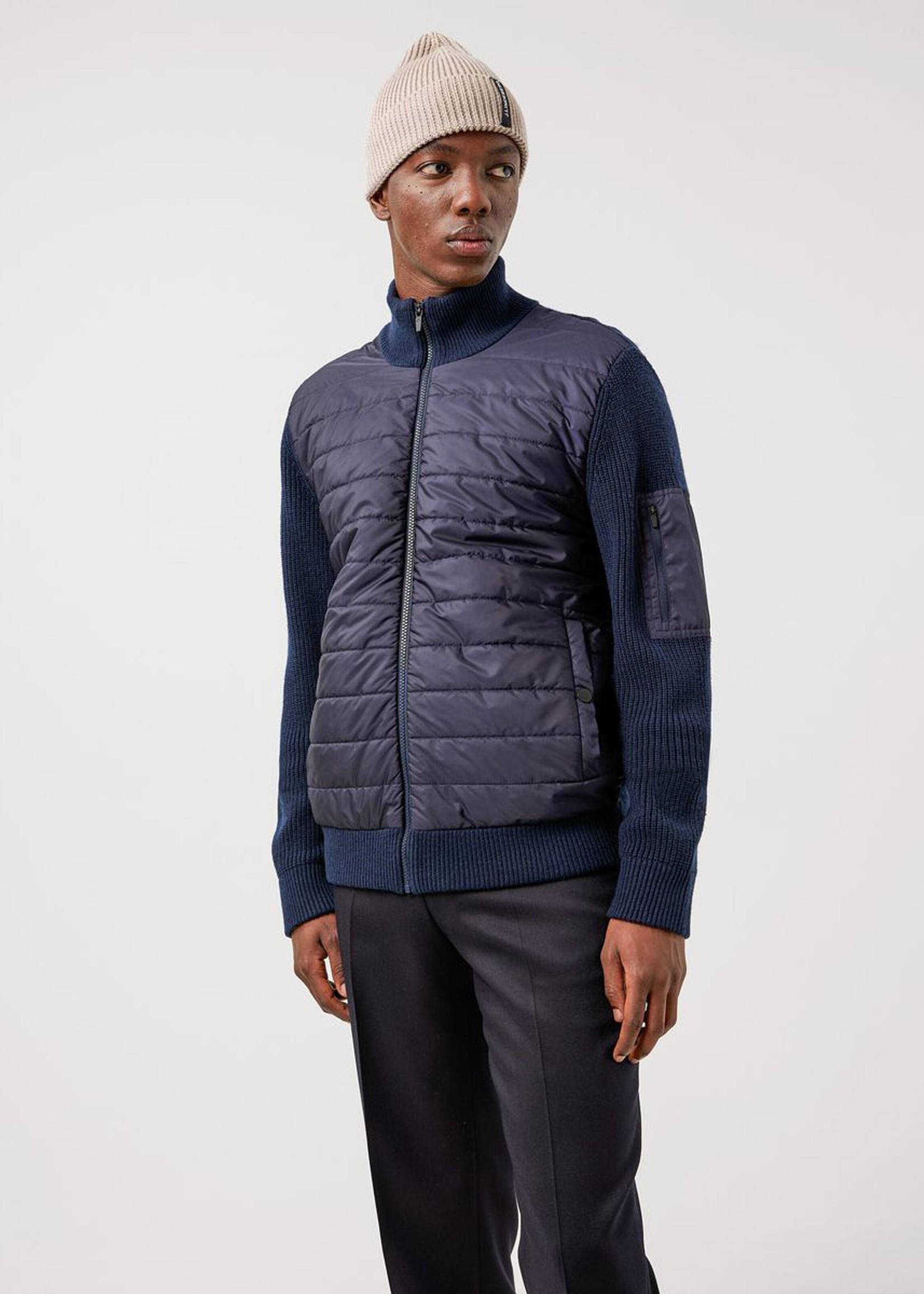 J. Lindeberg Beck Knitted Hybrid Jacket