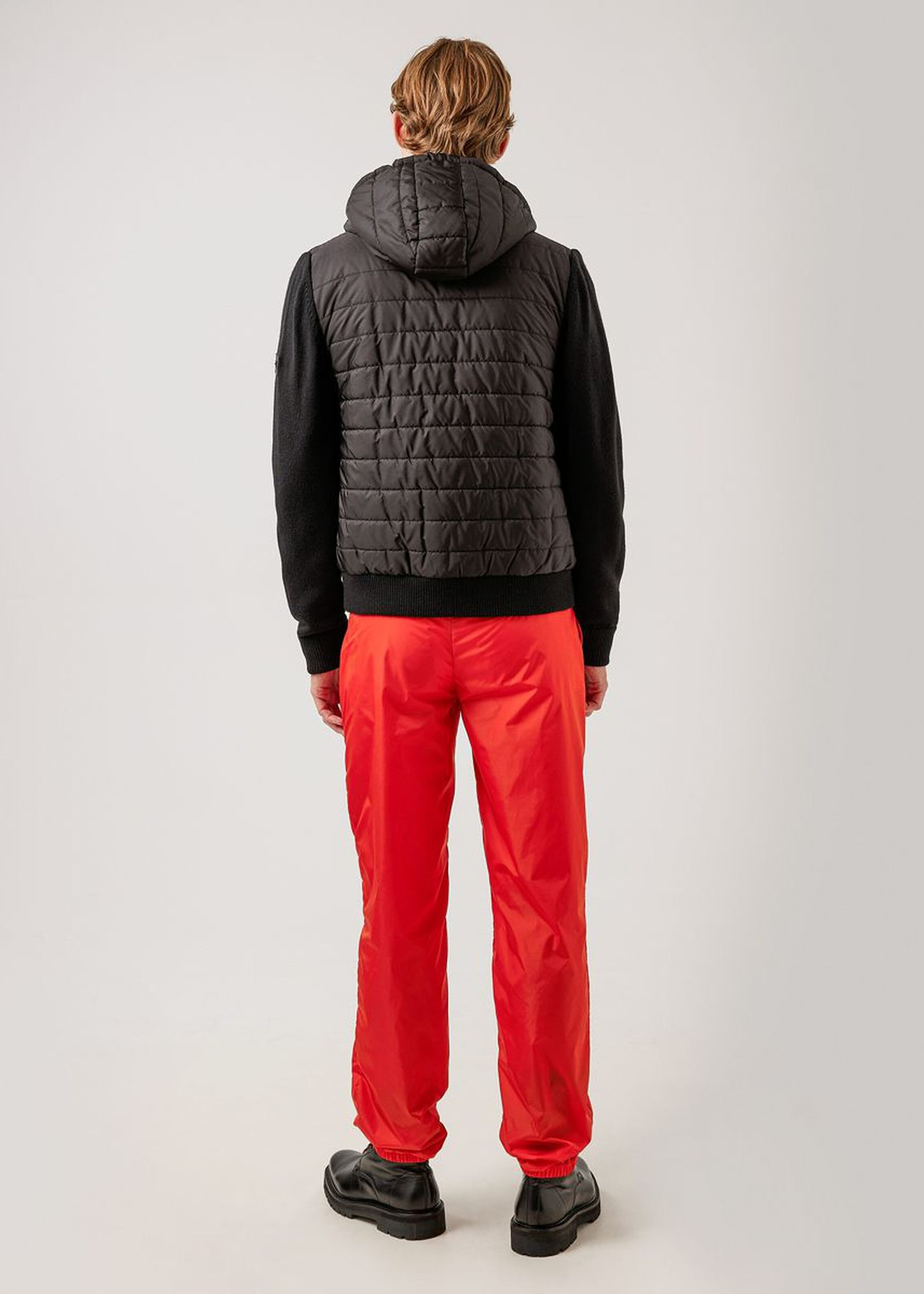 J. Lindeberg Pierre Knitted Hybrid Jacket