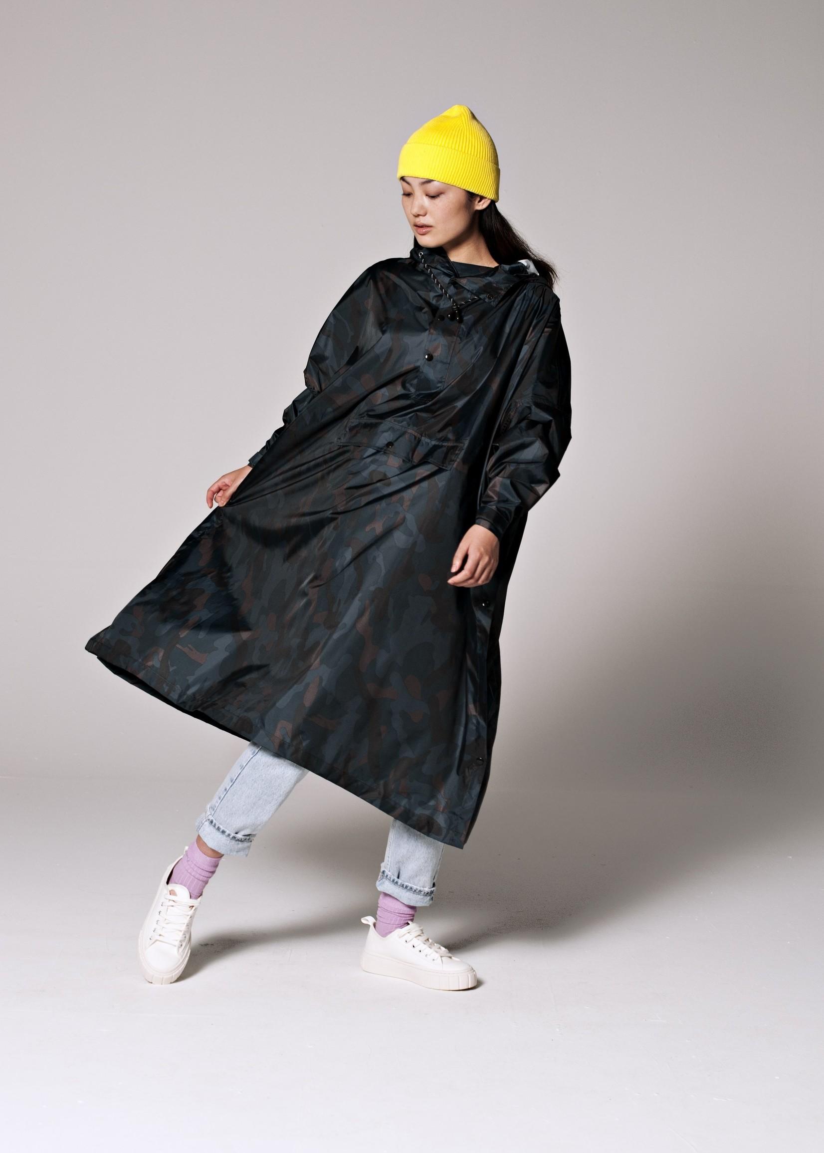Rainkiss Storm Camo - Rain Poncho