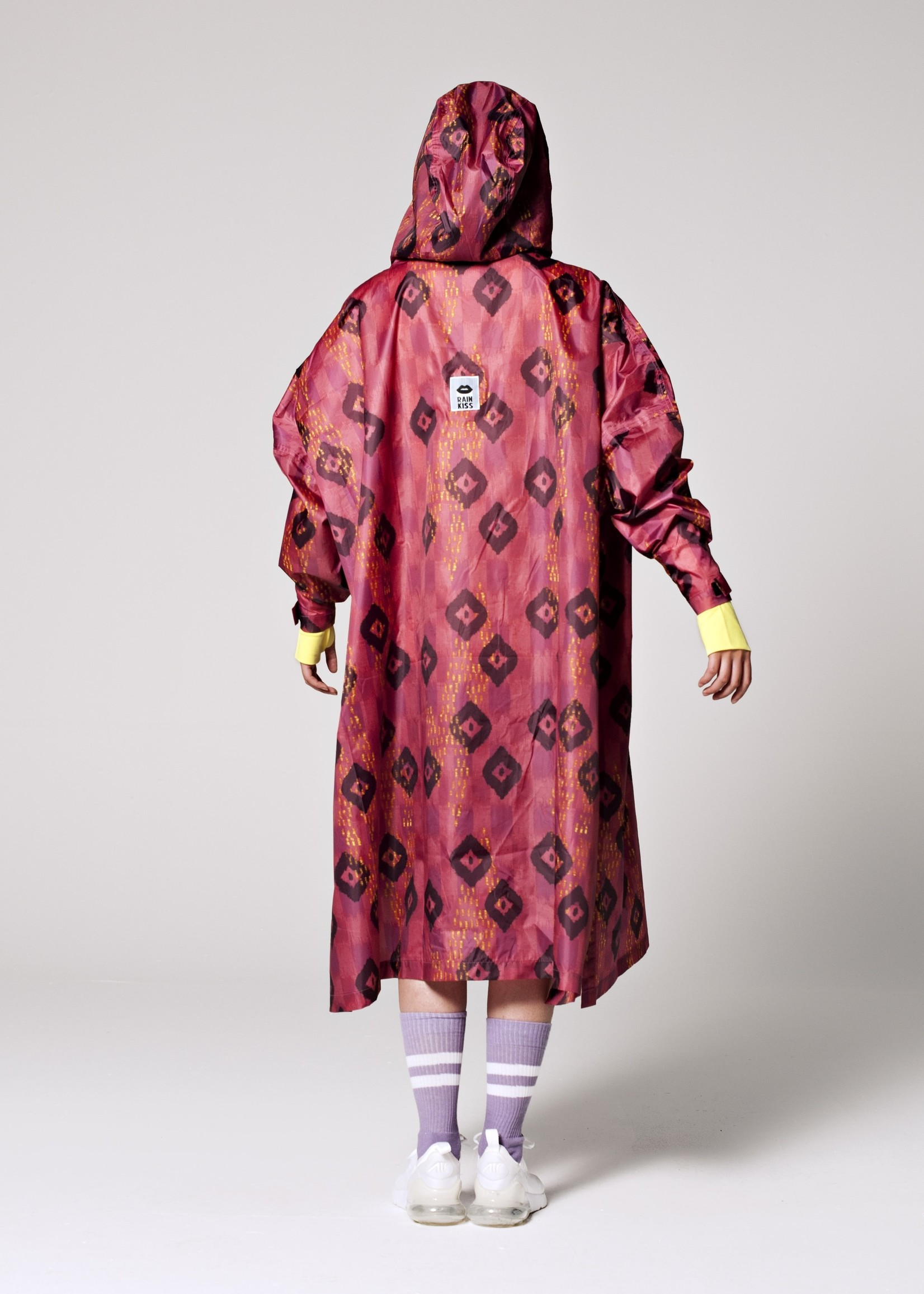 Rainkiss Ikat - Rain Poncho