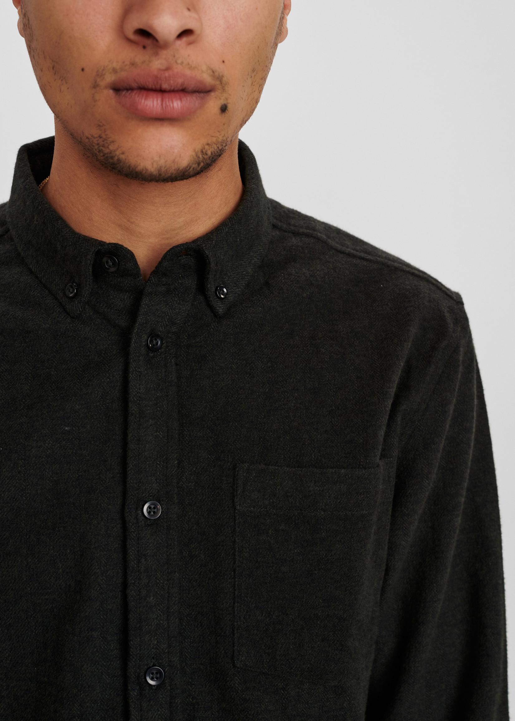 Anerkjendt Akkonrad 2 Tone Melange Shirt