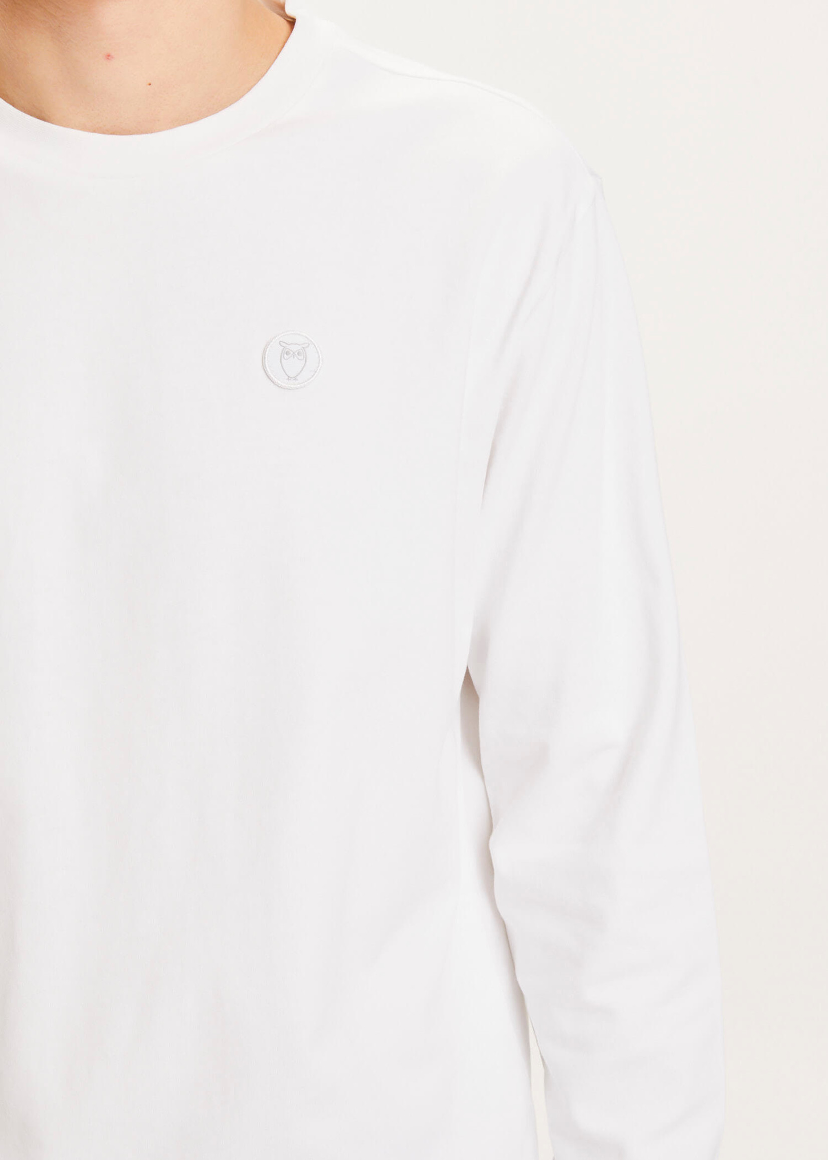 Knowledge Cotton Locust Badge Long Sleeve