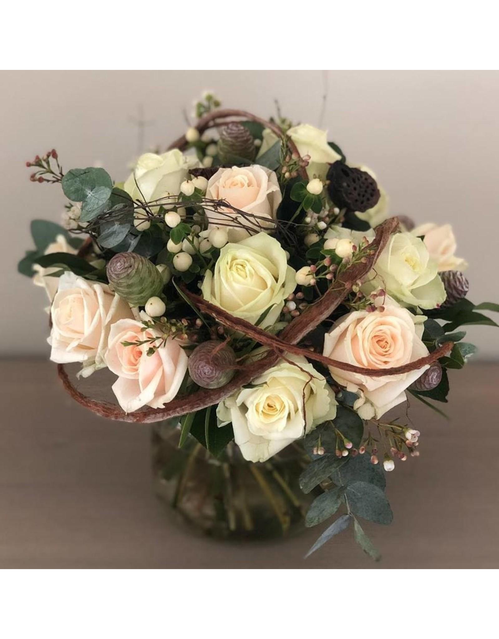 boeket met rozen