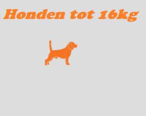 Honden tot 16kg