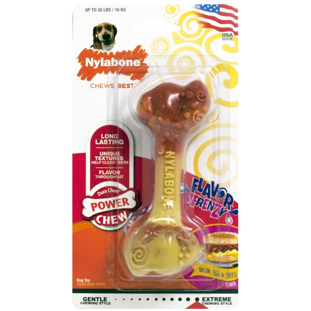 Nylabone Power Chew Breakfast Bone maat M