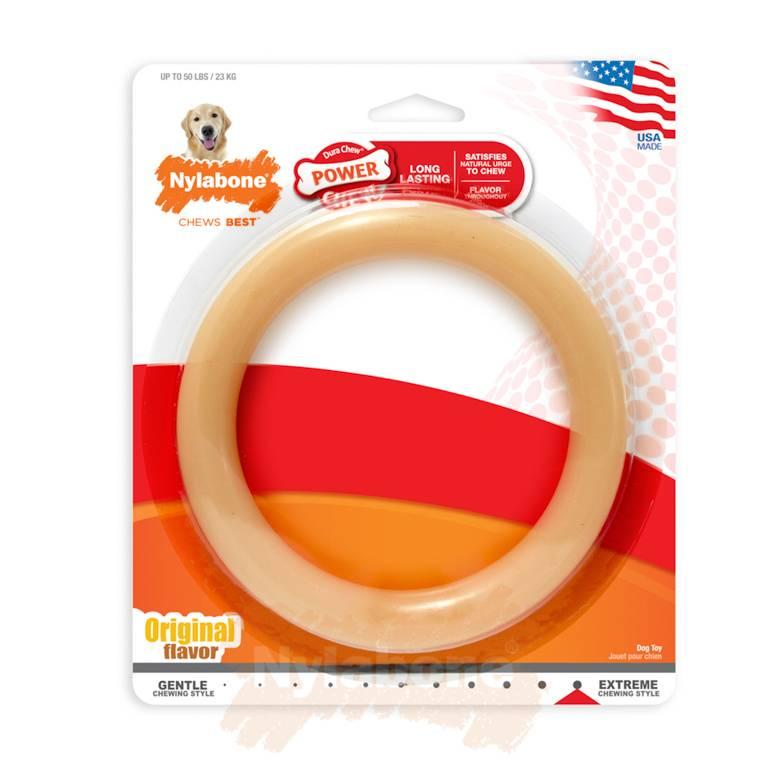 Nylabone Power Chew Ring maat L