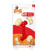 Nylabone Power Chew Double Bone, Bacon maat M