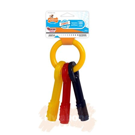 Nylabone Puppy Teething Keys maat L