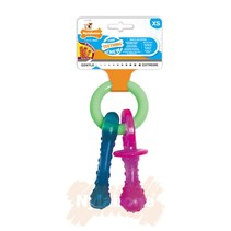 Flexible puppy teething pacifier N330