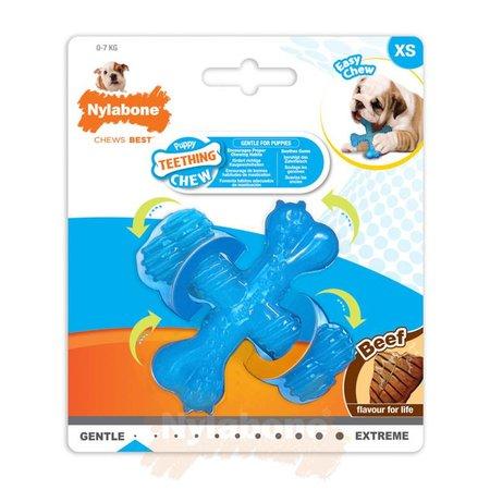 Nylabone Puppy X Bone  maat XS