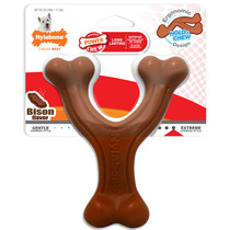 Extreme Chew Wishbone Bison Small