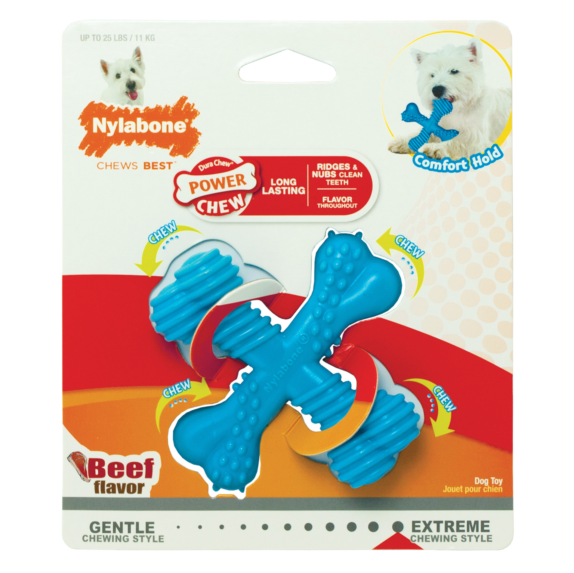 Nylabone Extreme Chew Power Chew X Bone small
