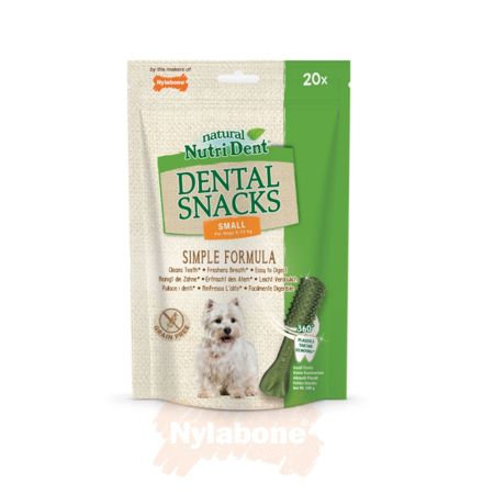 Nylabone Nutri Dent Snacks - Small 20 stuks