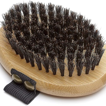 Mikki Bamboo Palm Brush - Bristle