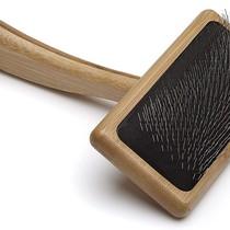 Bamboo Soft Pin Slicker - Medium