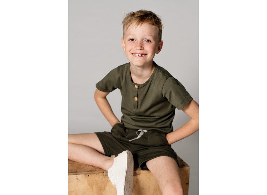 Benji Button Green - T-Shirt