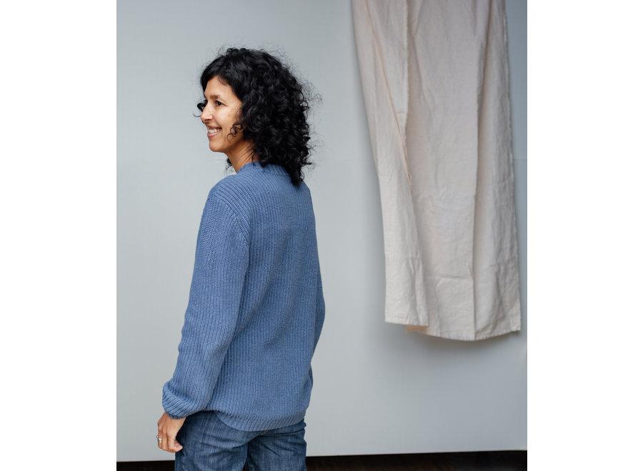 Skylar Sweater - Organic Cotton   Ocean (pre-order)