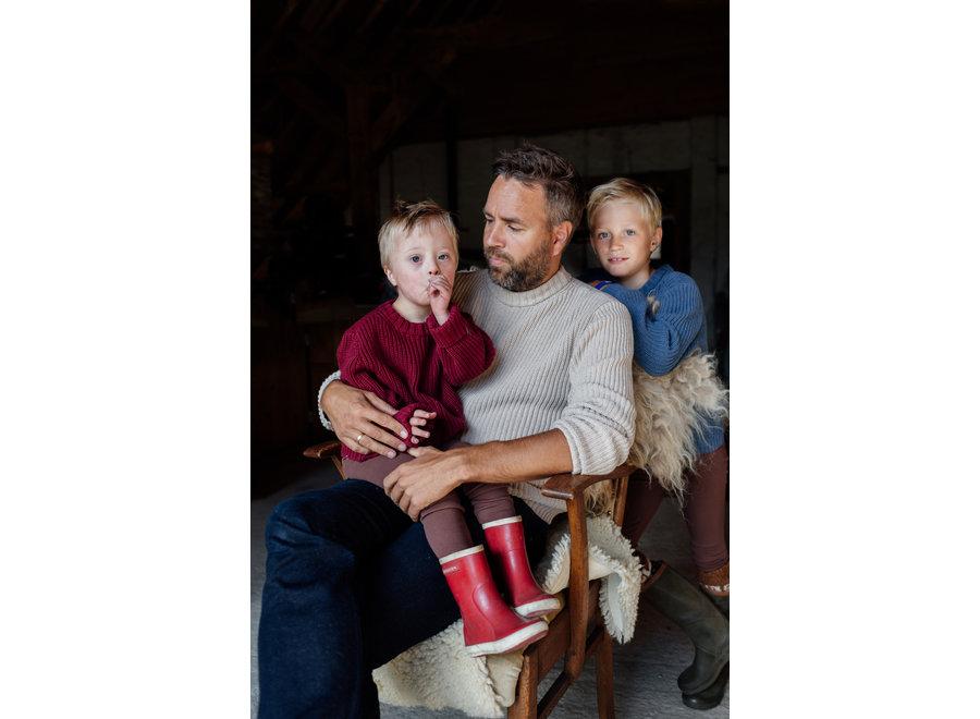 Skylar Sweater Kids - Organic Cotton | Latte (pre-order)