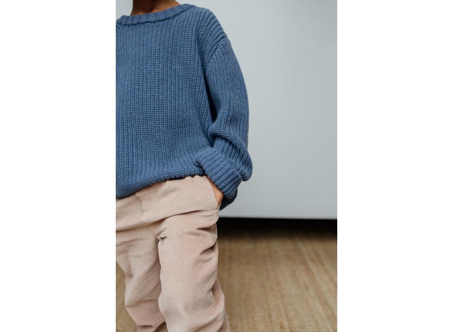 Skylar Sweater Kids - Organic Cotton | Ocean (pre-order)