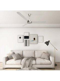 Deckenventilator 142 cm Silbern