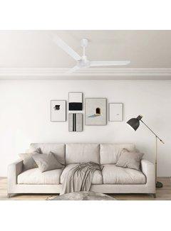 Deckenventilator 142 cm Weiß