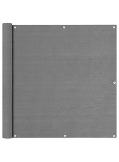 Balkon Sichtschutz Anthrazit 120x600 cm HDPE