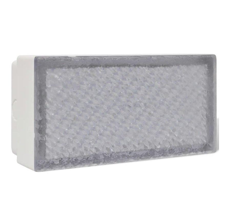 2 x LED Boden-Einbauleuchte 100 x 200 x 68 mm