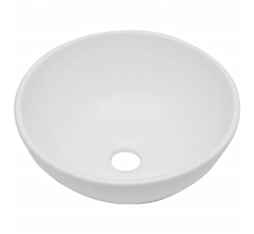 3-tlg. Badmöbel-Set Keramik Schwarz