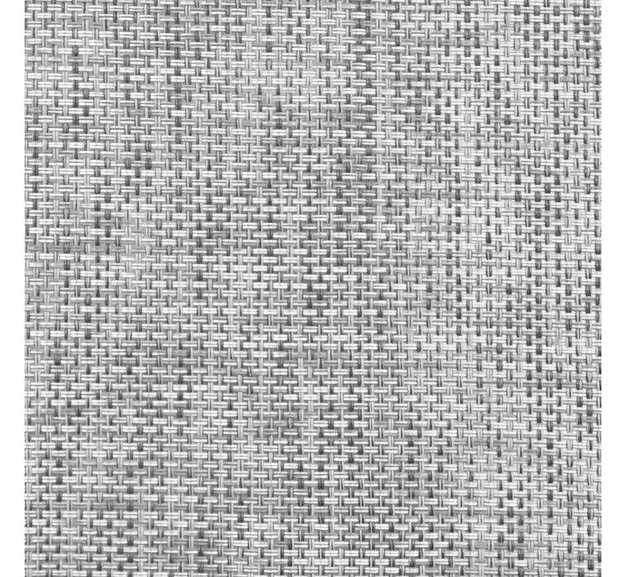 3-tlg. Garten-Essgruppe Textilene und Stahl
