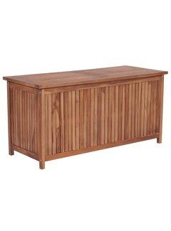 Gartenbox 120×50×58 cm Teak Massivholz