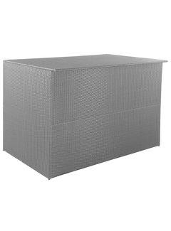 Gartenbox Schwarz 150x100x100 cm Poly Rattan
