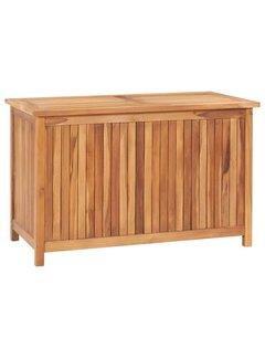 Gartenbox 90x50x58 cm Massivholz Teak