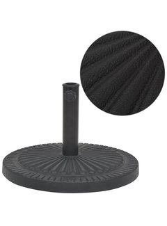 Sonnenschirmständer Harz Rund Schwarz 14 kg