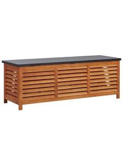 Gartenbox 150x50x55 cm Eukalyptus Massivholz