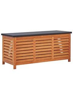 Gartenbox 117x50x55 cm Eukalyptus Massivholz