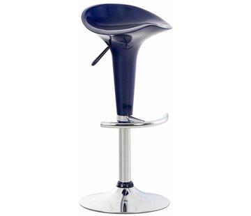Barhocker Saddle Kunststoff blau